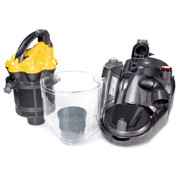 how to clean dyson v6 cyclone shroud