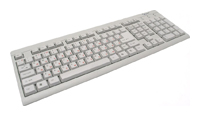 Gembird KB-8300-R White PS/2