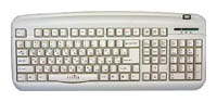 Oklick 300 M Office Keyboard White USB+PS/2