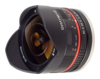 Samyang 8mm f/2.8 UMC Fish-eye Samsung NX