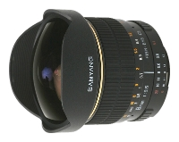Samyang 8mm f/3.5 AS IF MC Fish-eye CS Four Thirds