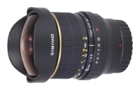 Samyang 8mm f/3.5 AS IF MC Fish-eye CS Samsung NX