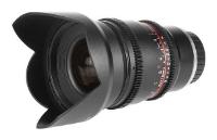 Samyang 16mm T2.2 ED AS UMC CS VDSLR Canon EF-S