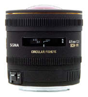 Sigma AF 4.5mm f/2.8 EX DC HSM Circular Fisheye Nikon F