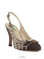 Туфли Etro 3961 коричневые