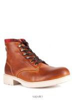 Ботинки SK KW-5151_VVH_AA_04Cuero-08Rojo_SH коричневые
