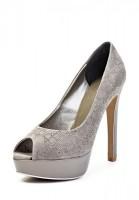 Туфли на каблуке Basic 1263-50 серые