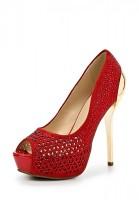 Туфли на каблуке ARZOmania TA 147-4 красные