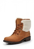 Ботинки Elche BW-W328011A коричневые