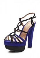 Босоножки на каблуке Klimini 005 GLAM фиолетовые