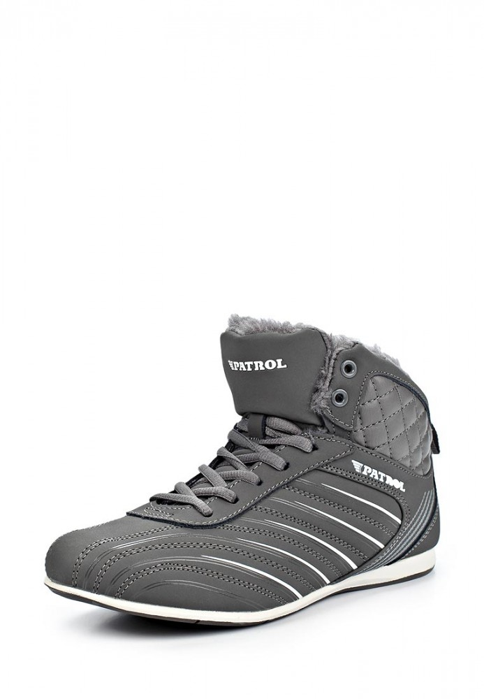 fec6ac1ee46b Обувь женская Зимние кроссовки и кеды Patrol 266-416-1 01-5 серые