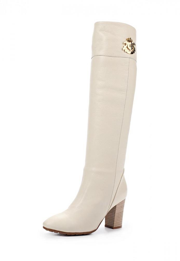 Обувь женская Кожаные сапоги Grand Style G-117 белые характеристики, цены,