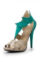 Босоножки на каблуке Lamania SS14LMS11-01122 зеленые