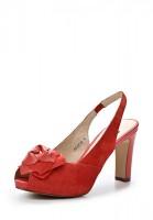 Босоножки на каблуке Dino Ricci 202-29-82 красные