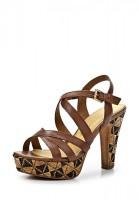 Босоножки на каблуке Marco Tozzi 2-2-28374-22 340 коричневые