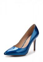Туфли на каблуке Dali 167-703-5-16 синие