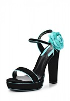 Босоножки на каблуке Dali 167-1002-3-1 чёрные
