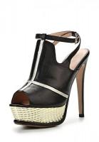 Босоножки на каблуке Graciana A 2919-7 B-YP 272 чёрные
