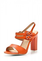 Босоножки на каблуке Betsy 419311/02#1 оранжевые