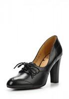 Туфли на каблуке Palazzo D'oro DS4E09-10-01-01K чёрные