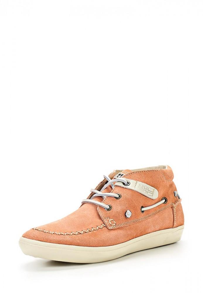 Оранжевые ботинки