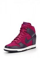 Кеды на танкетке Nike 528899-501 фиолетовые