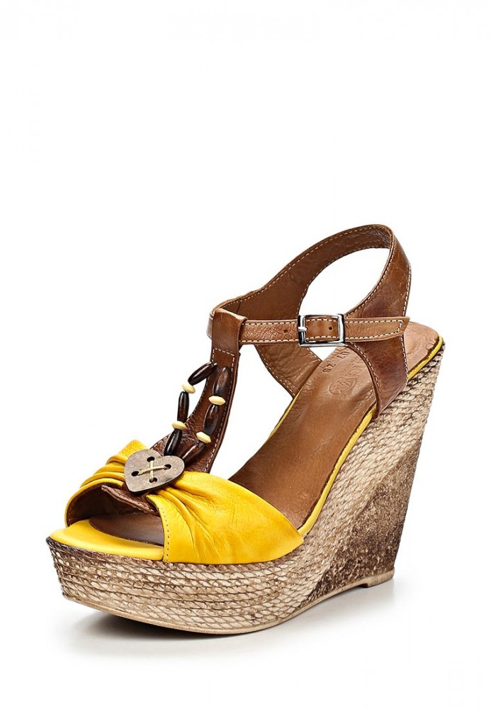 Желтые босоножки проБоты Обувь наша страсть