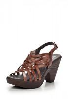 Босоножки на каблуке Evita EVS2007-TABACO коричневые