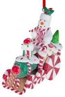 Елочные игрушки Украшение новогоднее