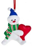 Елочные игрушки Фигурка новогодняя