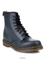 Ботинки Dr Martens 10072410  1460 Navy Smooth синие