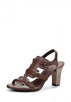 Босоножки на каблуке Elche BAL240-24005-2 коричневые