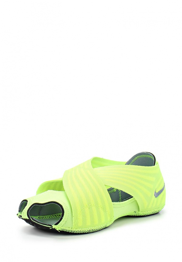 Балетки Nike 684870-002 белые, зеленые