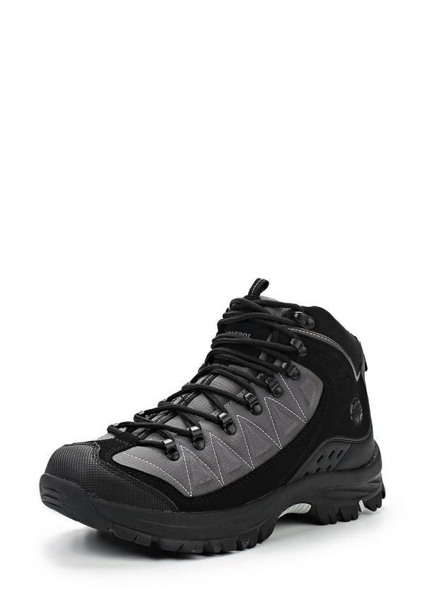 Ботинки трекинговые Patrol 579-505PP-01/8-1/5 серые, чёрные