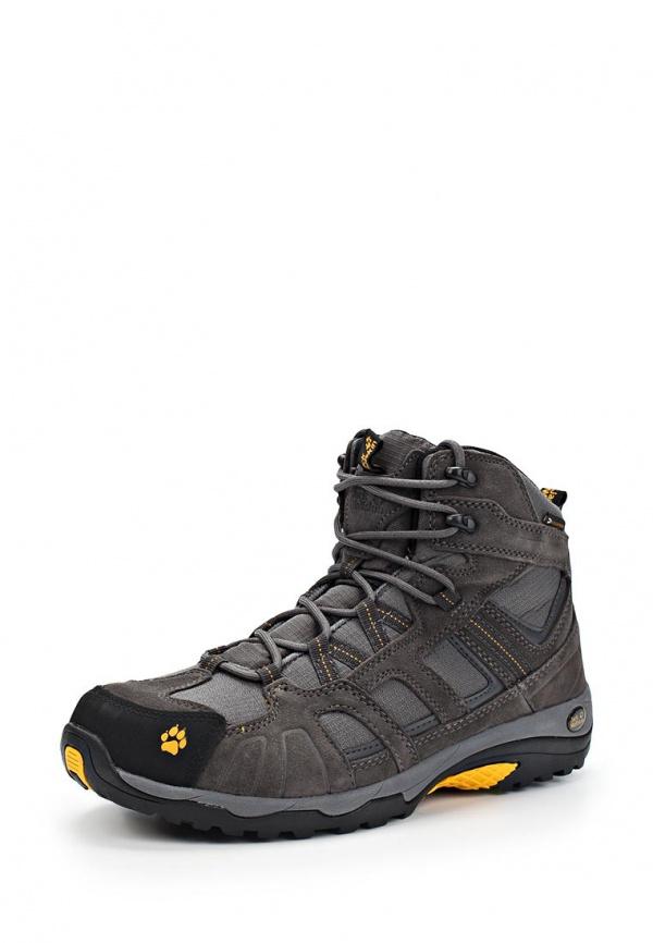 Ботинки трекинговые Jack Wolfskin 4011361-3800 серые