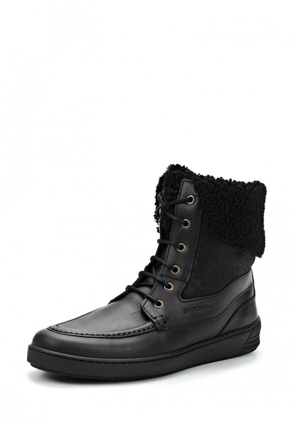Ботинки Storm 6325.02.20 чёрные
