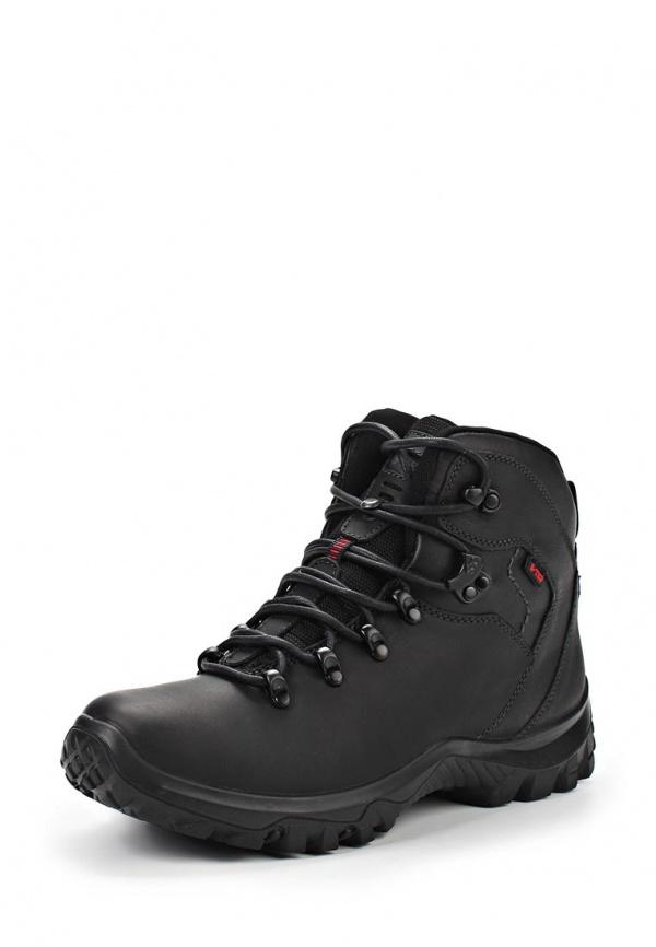 Ботинки трекинговые S-tep 312-1 чёрные