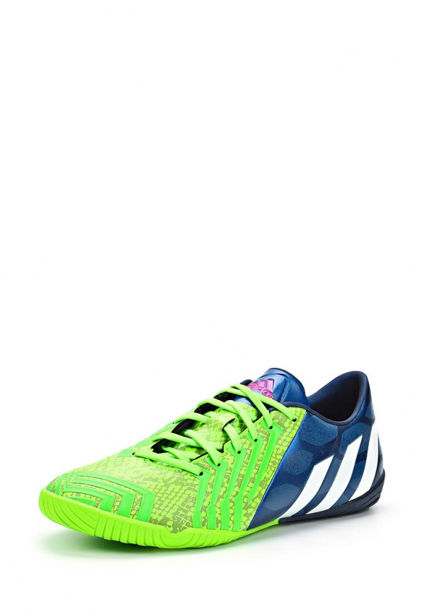 Бутсы зальные adidas Performance M20135 зеленые, синие