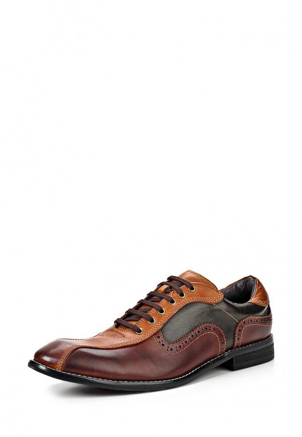 Туфли McCrain FW14MCS14 бордовые, коричневые