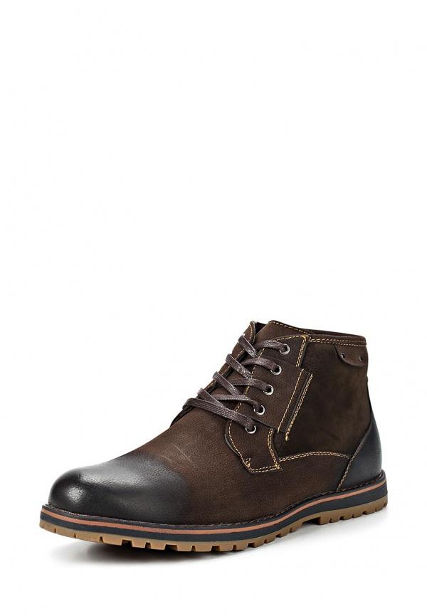 Ботинки Stesso 619-00B9U-3A коричневые