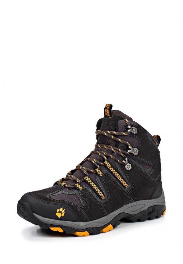 Ботинки трекинговые Jack Wolfskin 4011501-3800 серые