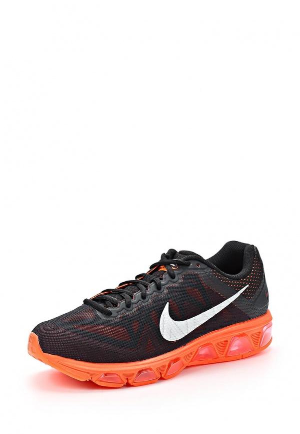Кроссовки Nike 683632-002 оранжевые, чёрные
