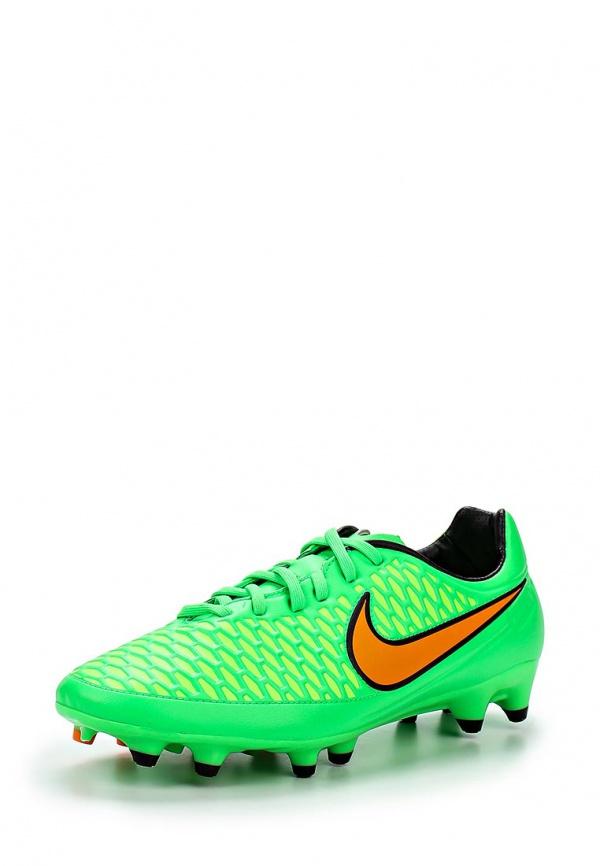 Бутсы Nike 651329-380 зеленые