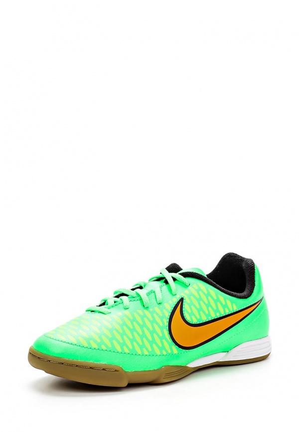 Бутсы зальные Nike 651650-380 зеленые