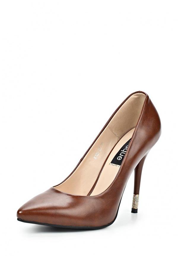 Туфли Burlesque HRMH-D1 коричневые