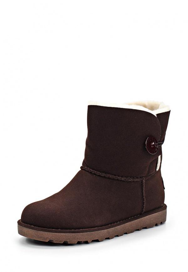 Угги Bona Dea A18-85 коричневые