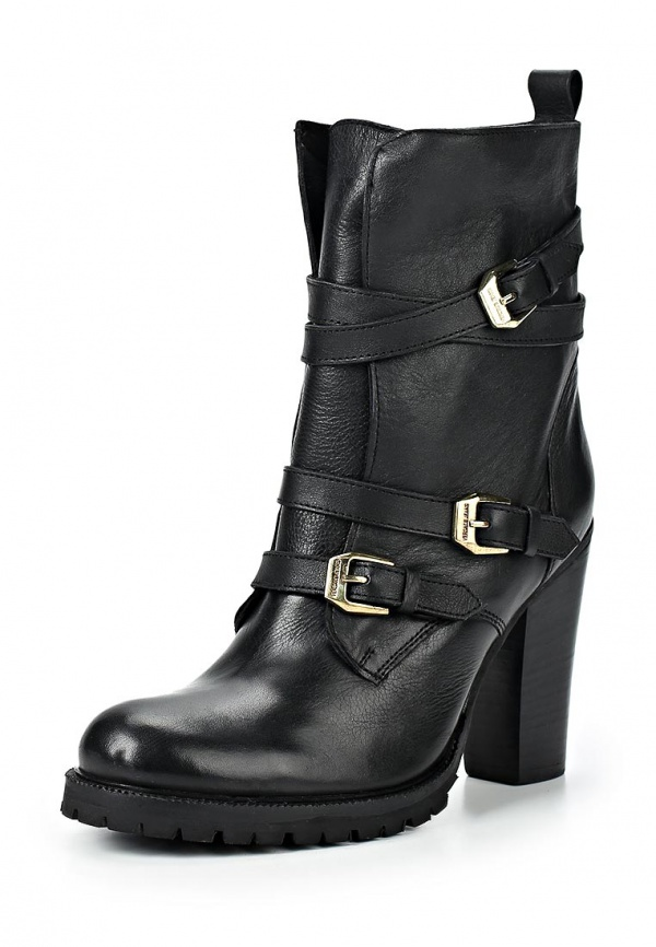 Полусапоги Versace Jeans E0VIBS05 чёрные
