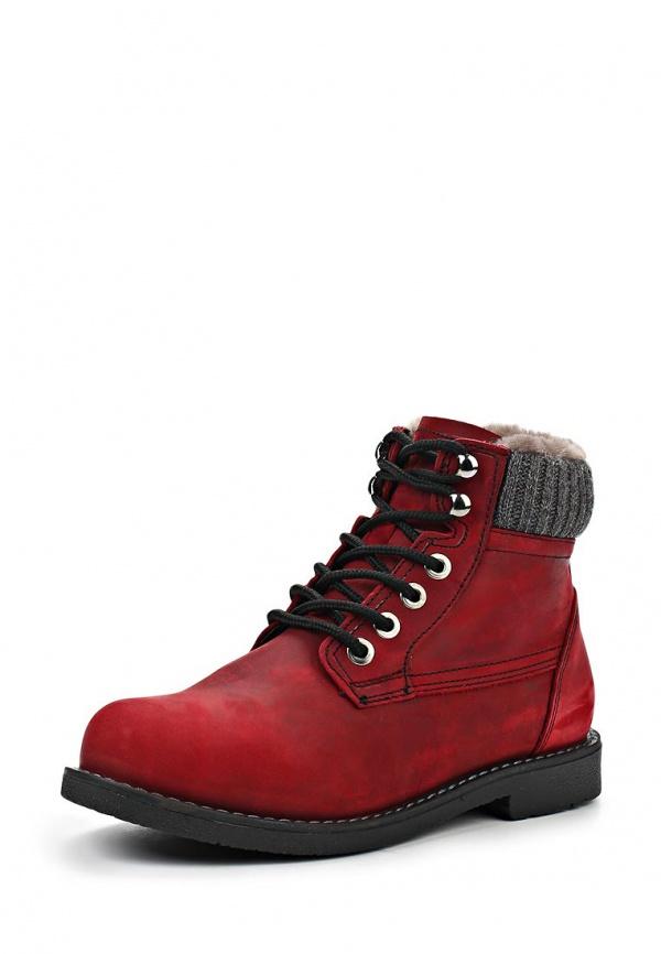 Ботинки VELVET 3202-TFR-04-NM красные