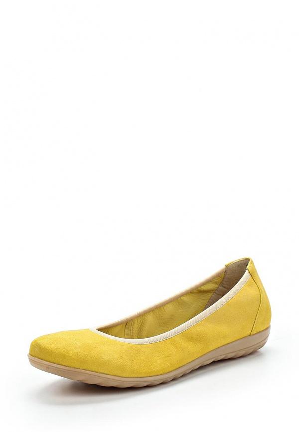 Балетки Caprice 9-9-22159-24-696 жёлтые