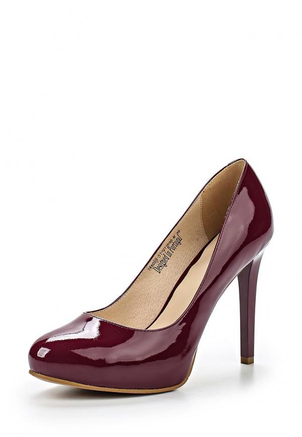 Туфли Clotilde 14A059-51-Q1163B-M бордовые